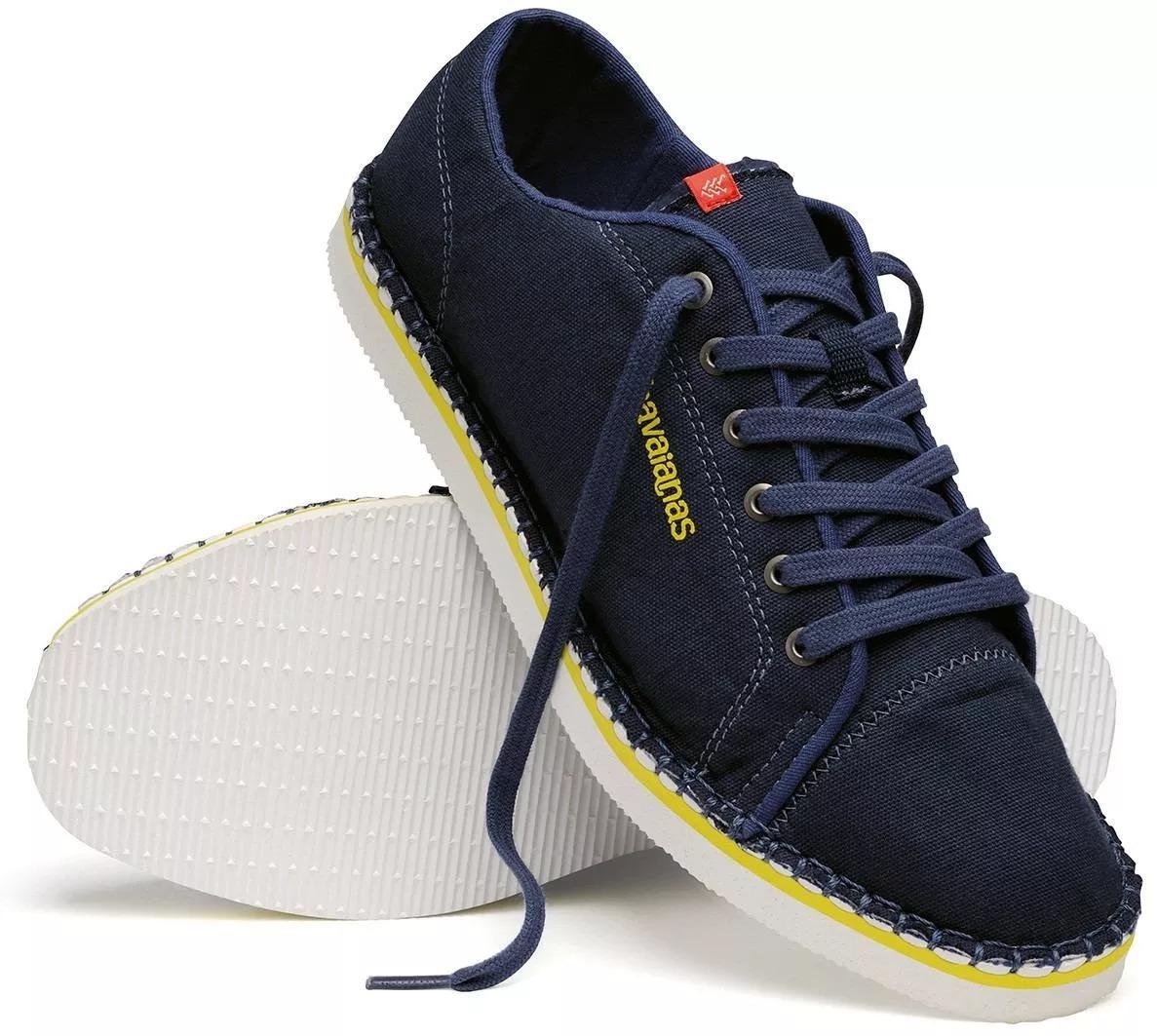 38e7a33718 havaianas alpargata sneaker layers iii azul marinho. Carregando zoom.