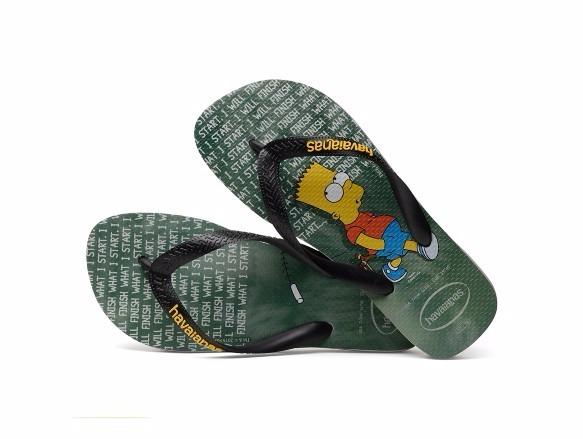 d0377092c8b0 Havaianas Kids Simpsons - Cinza - R  25