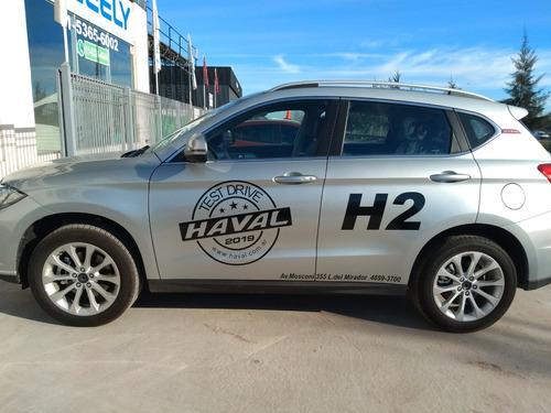haval h2 1.5t comfort cero km 2018  variedad de colores