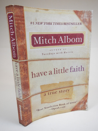 have a little faith mitch albom d6