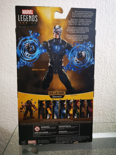 havok marvel legends