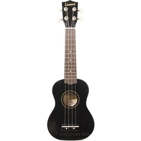 hawaian ukelele soprano + funda + curso rock center