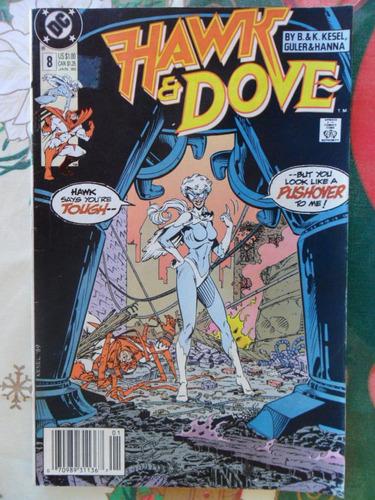hawk and dove  nº 8 - original americana  r$ 20,00!