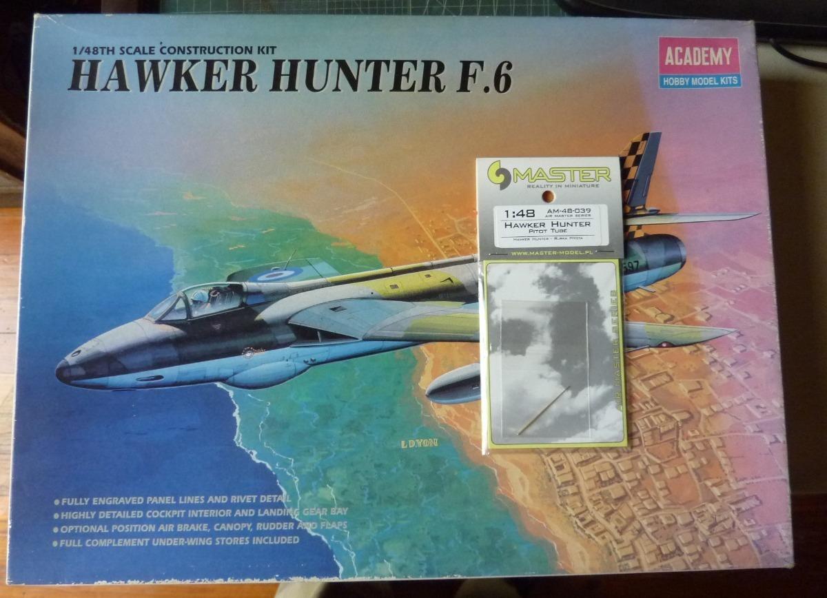 Hawker Hunter Pitot Tubo 1//48 Master-Model