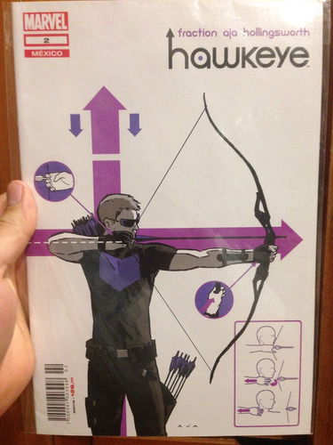 hawkeye #2 comic en español ed televisa.