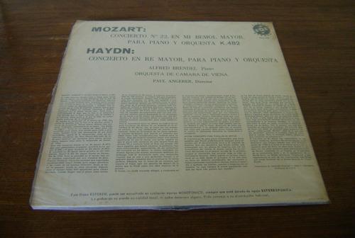haydn / concierto en re mayor, para piano y orquesta.