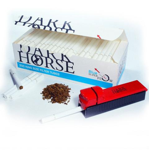 haz tus cigarrillos, 200 tubos +máquina, fumar tabaco liar