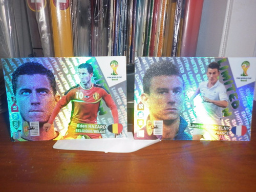hazard-koscielny limited edition adrenalyn brasil 14 panini