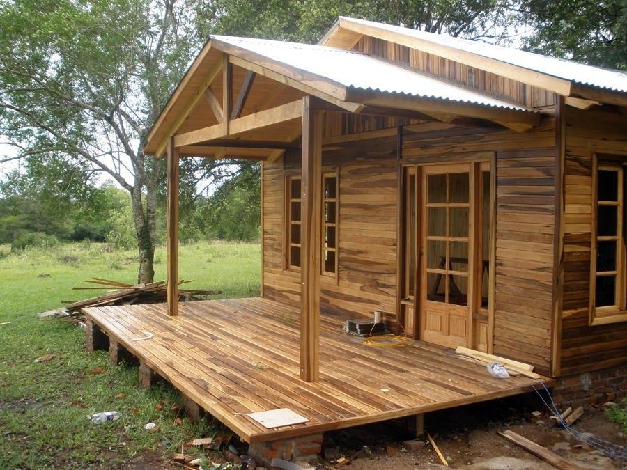 Hazlo tu como fabricar casas de madera caba as planos - Casas de madera diseno moderno ...
