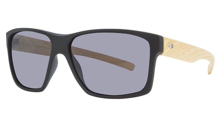 9ff58dad2dbe9 Hb Freak - Óculos De Sol Matte Black Wood  Gray Unico - R  190,00 em ...