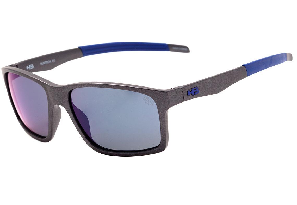 532457bb9c700 hb mystify - óculos de sol new graphite  blue chrome. Carregando zoom.