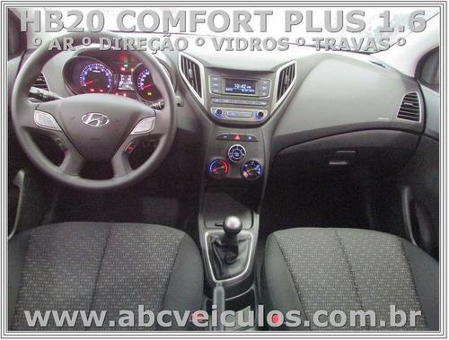 hb20 comfort plus 1.6flex completo-17/18 pronta entrega