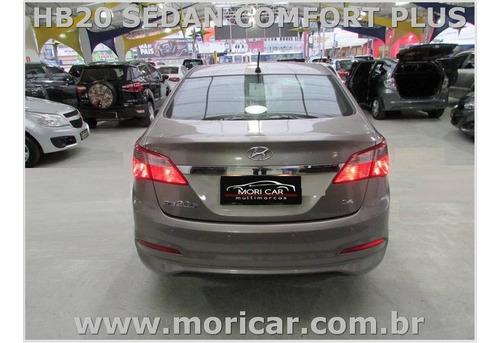 hb20 sedan comfort plus 1.6 flex - ano 2017 - bem conservado