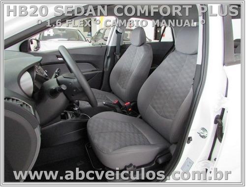 hb20 sedan comfort plus 1.6 flex  manual 17/18-  cod d228 s
