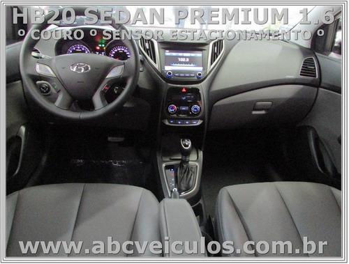 hb20 sedan premium 1.6 flex automatico- ano 17/18 cod g071s