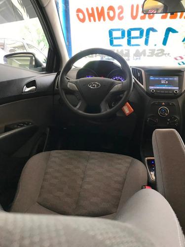 hb20s 1.6 comfort plus (aut) 2018 zero de entrada 2018