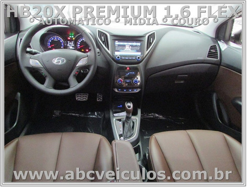 hb20x hath premium 1.6 flex  automatico  ano 17/18 - 0 km