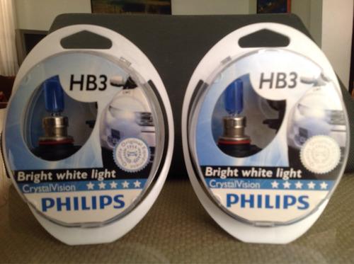hb3 (9005) crystal vision 12v 55w de phillips.
