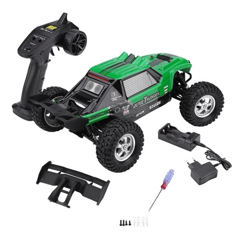 hbx 1/12 2.4g 4x4 buggy rtr coche rc luces led todo terreno
