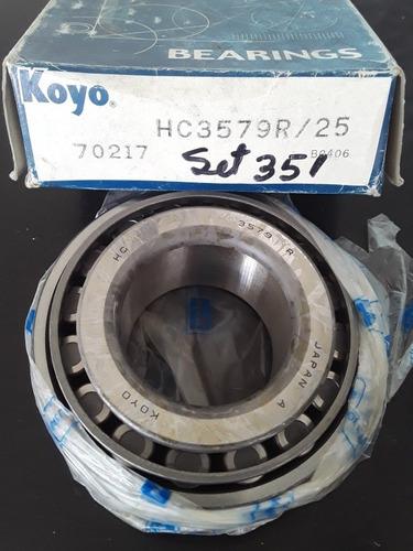 hc3579r/25 set 351 rodamiento marca koyo