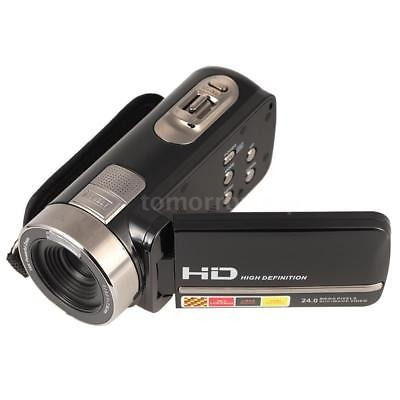 hd 1080p 24mp 3 táctil lcd digital cámara de vídeo dv