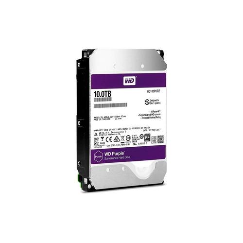 hd 10tb sata western digital purple surveillance wd100purz