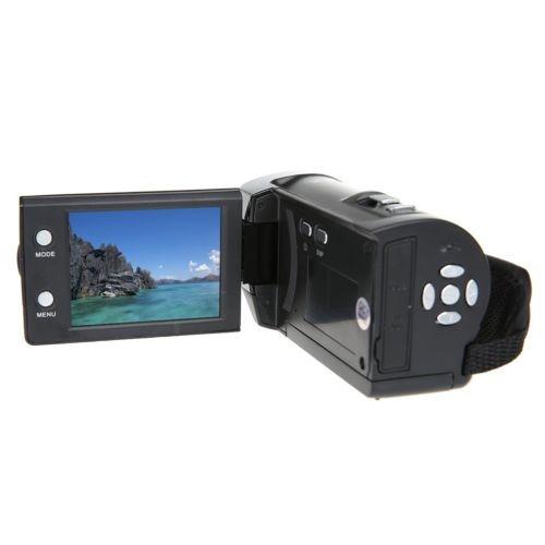 hd 16 x digital pantalla lcd zoom cámara de vídeo cámara dv
