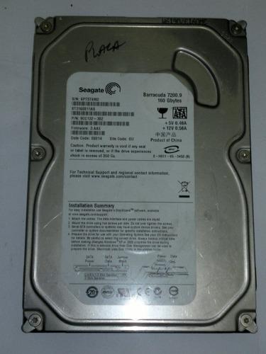 hd 160 gb st3160811as   - com defeito - b32