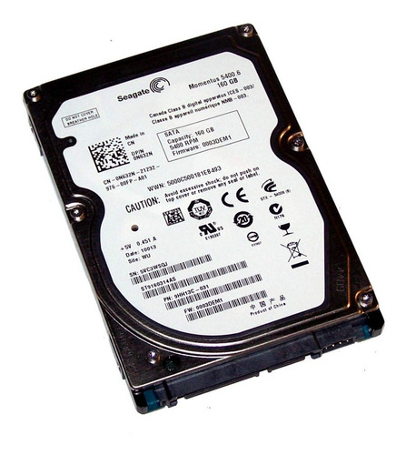 hd 160gb sata 5400 rpm recertificado netbook garantia oferta