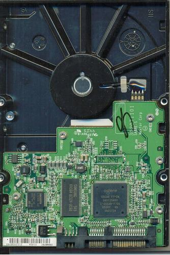 hd 17 maxtor sata 160gb diamondmax 10 6l160mo s/n l39y2zxg