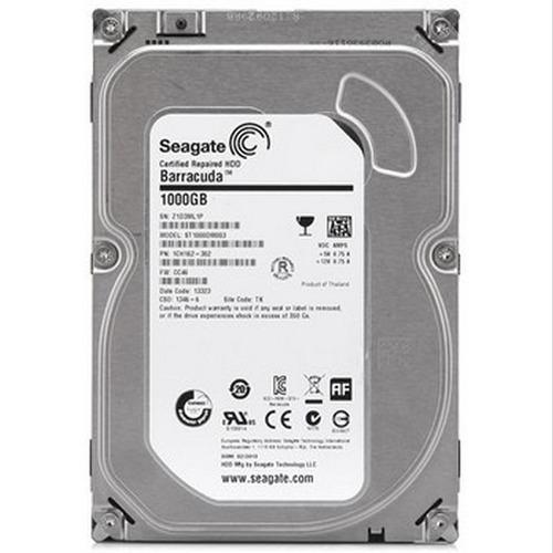 hd 1tb 1000gb 1 tb seagate 7200rpm sata3 c/ 1 ano d garantia