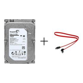 Hd 1tb Sata 3 Seagate 3.5 P/ Dvr Cftv Pc Desktop + Brinde