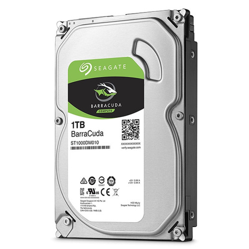 hd 1tb sata 3,5 seagate 1tera interno barracuda 64mb 7200rpm