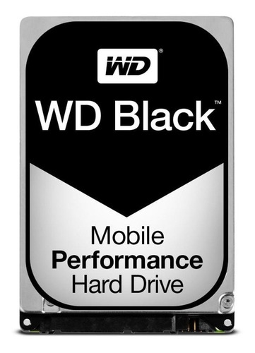 hd 2.5 notebook wd black 500gb - sata 3 - novo com garantia