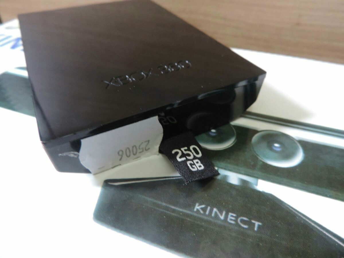 Hd 250 Gb Para Xbox 360 Slim Ou Super Slim Original - R ...