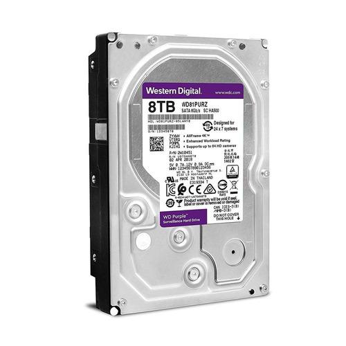 hd 8tb sata iii western digital purple surveillance 256mb