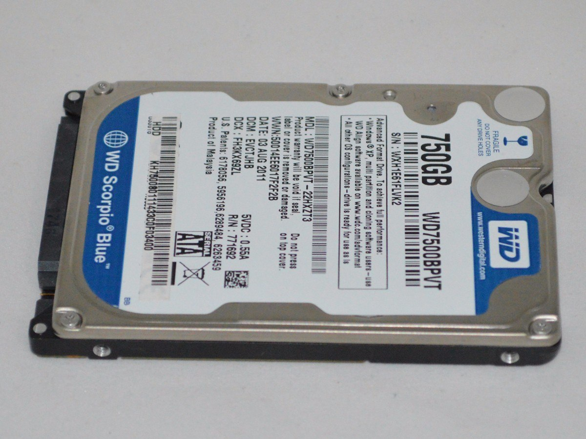 WDC WD7500BPVT WINDOWS 7 64BIT DRIVER