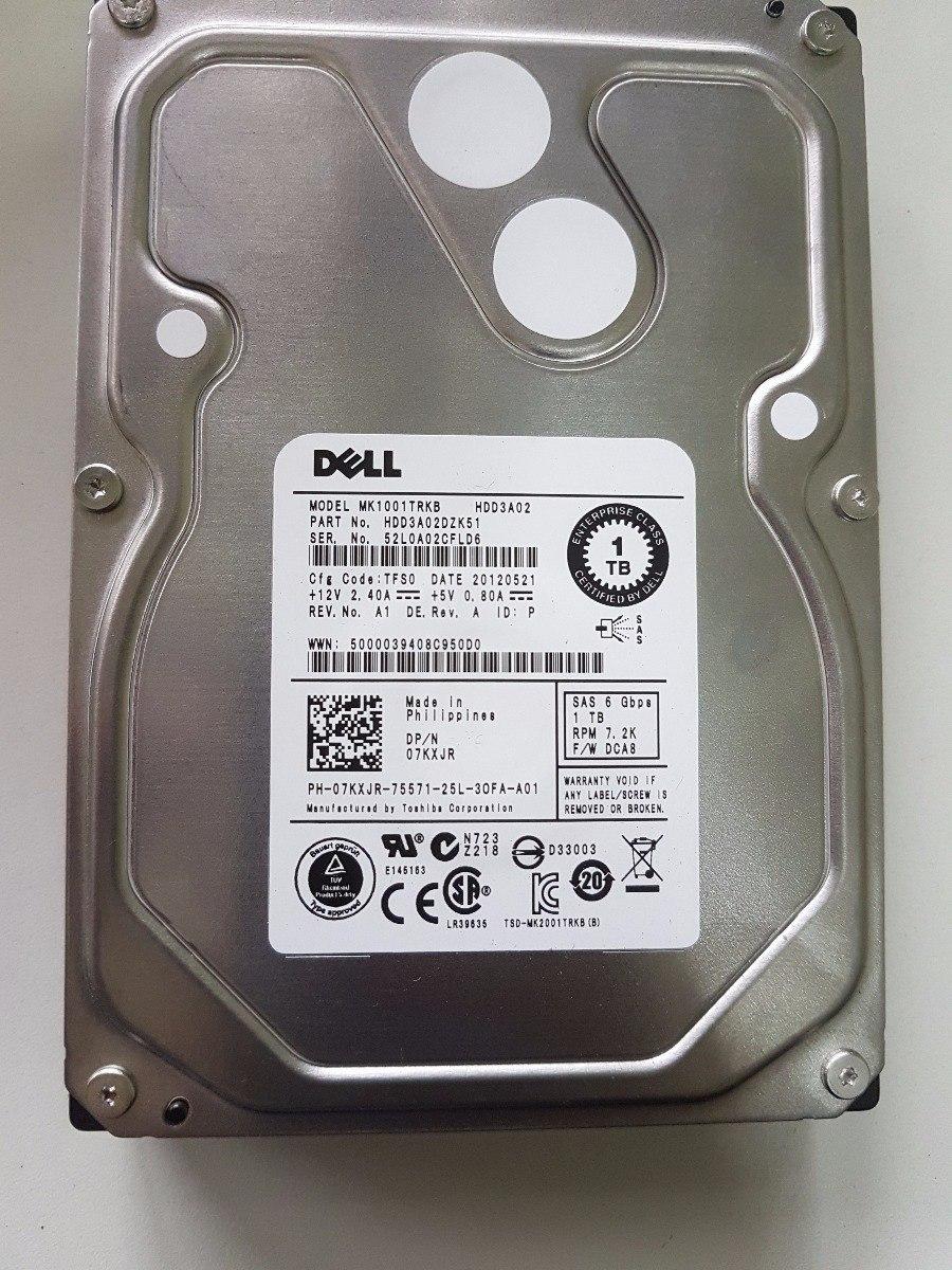 "1 Year Warranty New Dell PowerEdge R320 Hot Swap 1TB 7.2K 6G 3.5/"" SATA Drive"