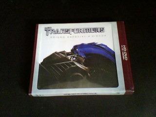 hd - dvd transfomers - edição especial  (duplo)