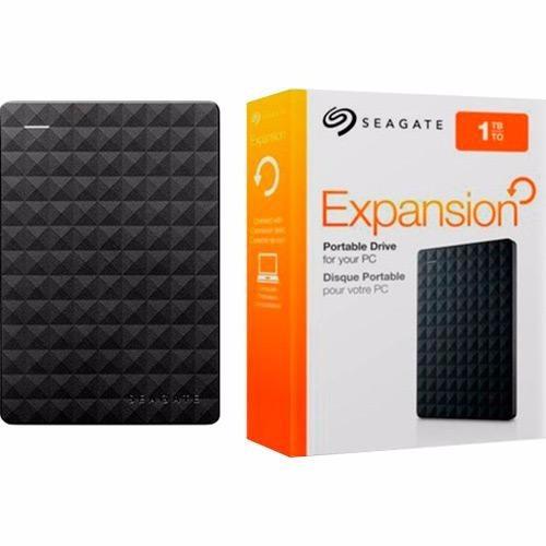 hd externo 1 tera slim usb 3.0 seagate expansion  (hd usb)
