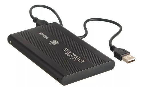 hd externo 500gb usb 2.0 slim portátil pronta entrega + nfe