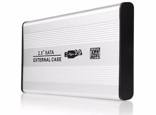 hd externo - 500gb - usb 3.0 - novo e com garantia - em 12x