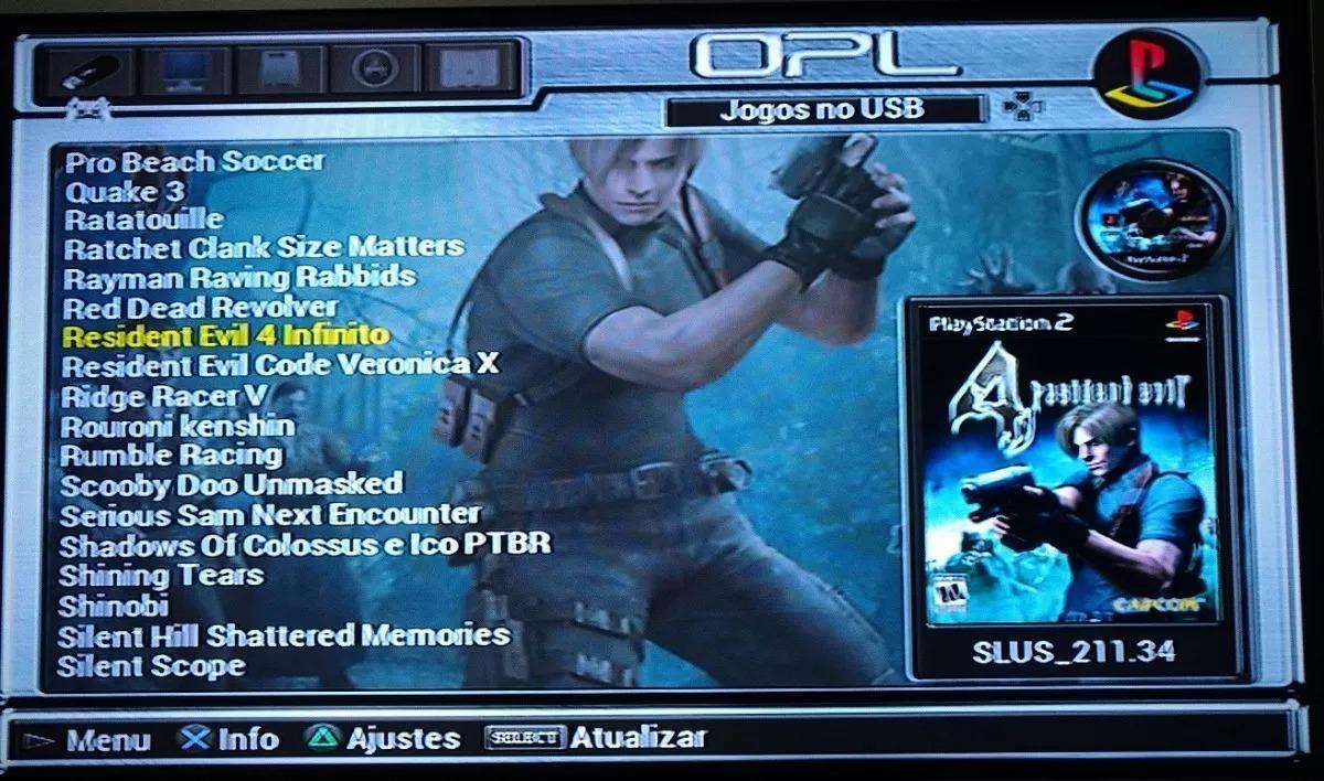 Hd Externo Gb Para Playstation 2 Com 90 Jogos De Ps2