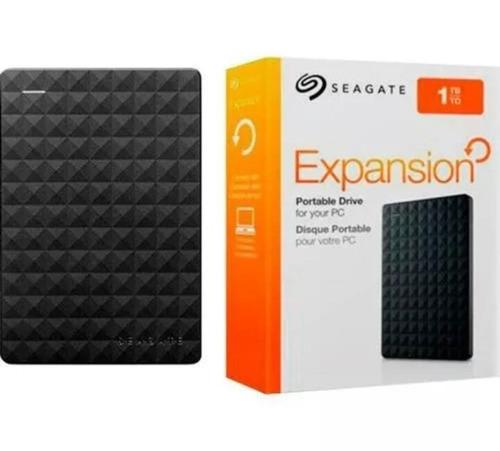 hd externo portátil seagate 1tb usb 3.0 hd lacrado original