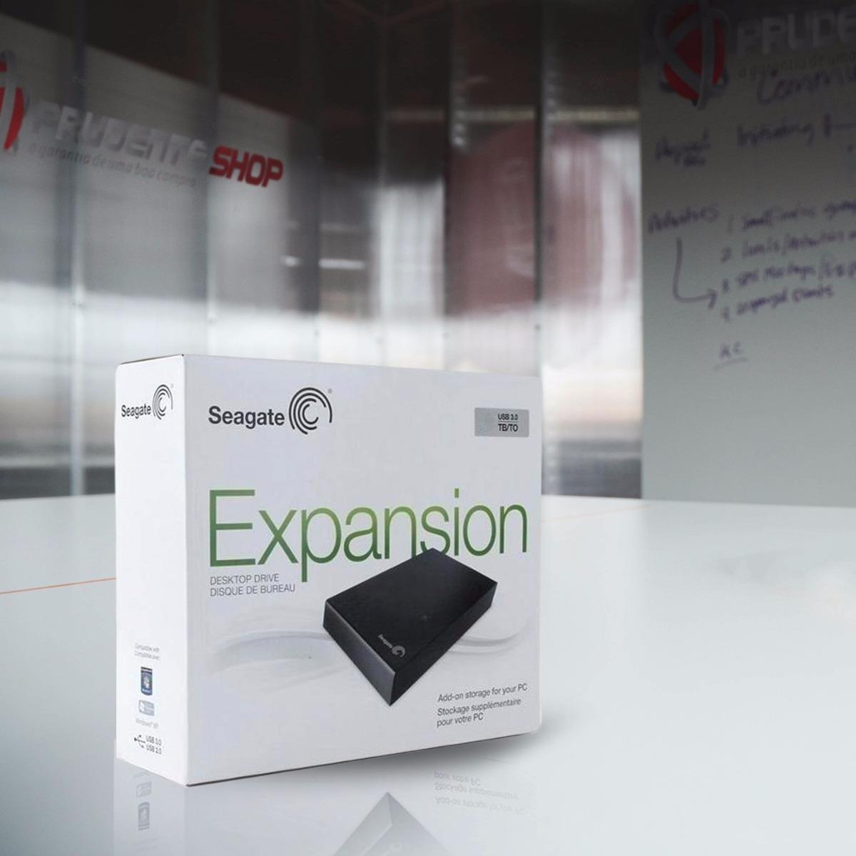 Hd Externo Seagate 2tb 2 Tera Expansion Usb 3 0 E 2 0 Novo