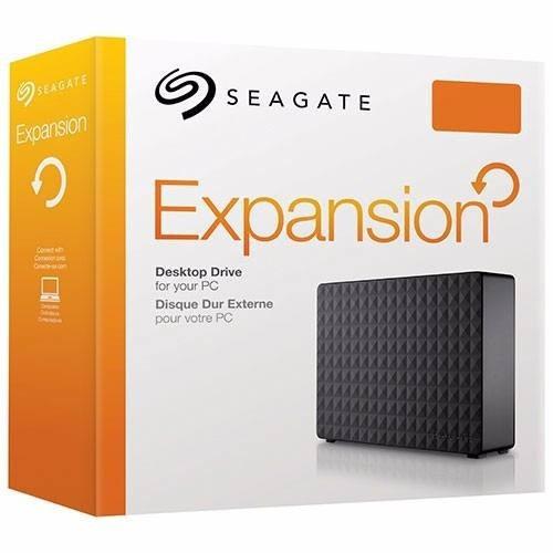 hd externo seagate expasion 8tb - 8000gb usb 3.0 p/entrega.