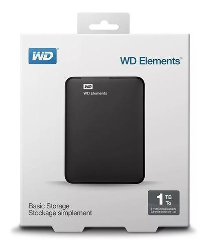 hd externo wd 1tb elements usb 3.0 envio gratis jazz pc.