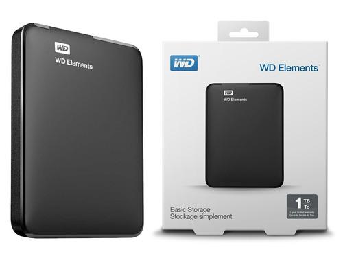 hd externo wd 1tb portatil 3.0 e 2.0 preto garantia 3 anos