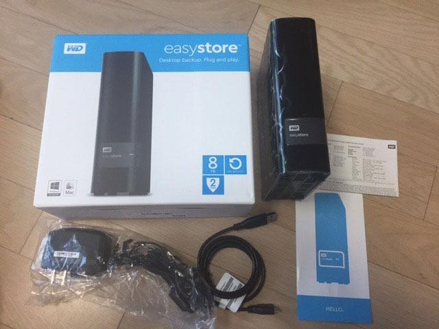 Hd Externo Western Digital 8tb Usb 3 0 Easystore Pc /mac