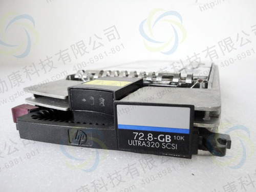 hd hp 72.8gb 10k scsi 80p 3,5 bd07285a25 286712-005